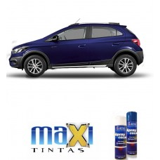 Spray Automotivo Azul Imperial + Verniz Spray 300ml